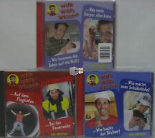 3 x Kinder Wissen Lern/Lehr Hörbuch Hörbücher CD Sammlung Willi wills wissen