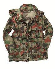 Genuine Swiss Army Issue M70 Alpenflage Camo Loadbearing Jacket GRADE 1 or 2