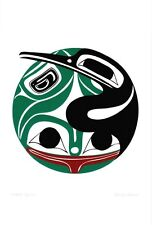 Water Spirits Danny Dennis Art Card Tsimshian Northwest Coast Native
