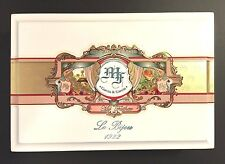 MY FATHER Le Bijou 1922 Garcia Empty Wood Cigar Box ~ White Torpedo