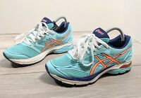 Asics Gel Pulse 8 Ladies Turquoise Running Trainers Size 7 UK 40.5 EUR 9 US
