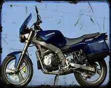 CAGIVA River 500 A4 Metal Sign moto antigua añejada De