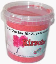 1 Kg Farbaromazucker Kirsche Zucker Zuckerwatte Zuckerwattemaschine Rot