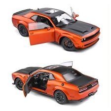 1/18 Solido Dodge Challenger SRT Hellcat Redeye Widebody Orange 2020 Liv Domicil