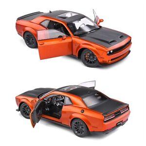 1/18 Solido Dodge Challenger SRT Hellcat Redeye Widebody Orange 2020 Liv Domicil