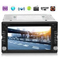 GPS Navigation 2Din HD Car Stereo DVD CD Player With Rearview camera K1B