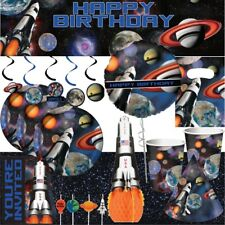 Space Rocket Blast Party Supplies Tableware, Decorations, Party Bags & Balloons