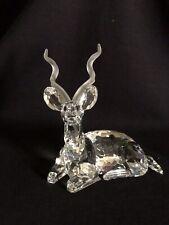 "Swarovski Crystal Large Kudu Figurine ""Inspiration Africa"" Collection 1994 - Nr"