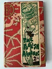 FOOLISH ALMANAC Antique 2nd Illustrated Fabric Hardcover Book 1906 Printing
