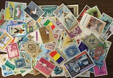 [Lot B] 100 Different Mint/MH/MNH/MNG Worldwide Stamp Collection- GREAT Value!