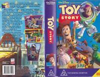 TOY STORY 1   VHS PAL VIDEO A RARE FIND