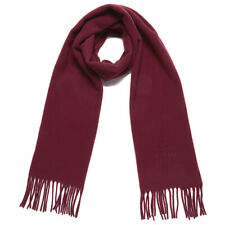 VIVIENNE WESTWOOD ORB Embroidered SCARF muffler Bordeaux RED