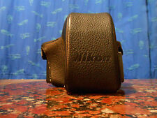 Exellent Rare Nikon F Photomic Action Finder Leather Case Molto Raro