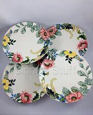 New 4 Pottery Barn Lyla Garden Butterfly DINNER Plates Spring Easter Dinnerware
