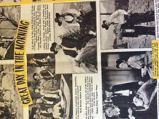 b1j ephemera 1953 film article Great day in the morning ruth roman r stack