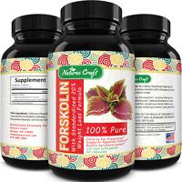 Natural Forskolin Weight Loss Fat Burner Appetite Suppressant Metabolism Booster