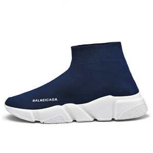 Mens Fashion Ultralight Socks Shoes Trend Breathable Foam Sole Athletic Sneakers