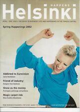 2002 Eurovision Song Contest Finland Helsinki Magazine Laura Voutilainen