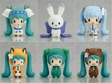 "Vocaloid Hatsune Miku Figures 6pcs Set Figurine 2"" New In Box Kids Gift"