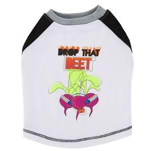 DROP THAT BEET Dog Shirt - M L XL - Walk-Man - Healthy BFF - Top Paw - NWT