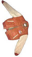 Planet Hollywood Phoenix Genuine Leather  Bomber Jacket Circa 1993
