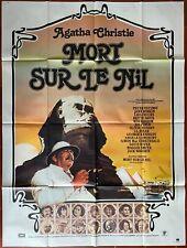 Affiche MORT SUR LE NIL Death on the nile PETER USTINOV Mia Farrow 120x160cm