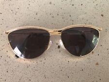 Tiffany & Co gold sunglasses women 23k gold