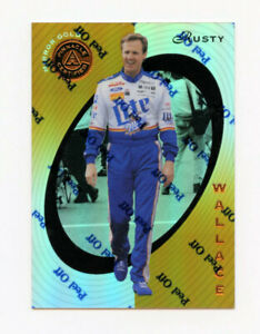 Rusty Wallace 1997 Pinnacle Certified Mirror Gold Parallel Insert Card 1:299 PKS