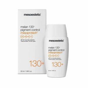 Mesoestetic Melan SPF 130+ Pigment Control Mesoprotech 50 ML NIB READ