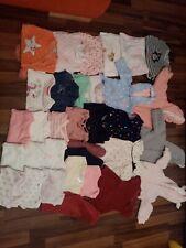 Baby bekleidungs paket 56 /62  mädchen 62 teile