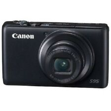 USED Canon PowerShot S95 Black Excellent FREE SHIPPING