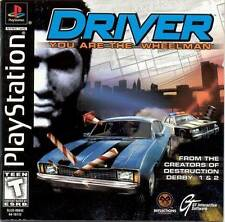 Driver - PS1 PS2 Complete Playstation Game