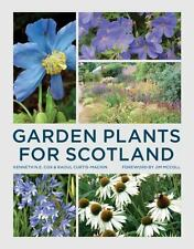 Cox, Kenneth-Garden Plants For Scotland  (UK IMPORT)  BOOK NEW