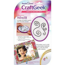 Wind It Craft Geek Purple Cows New Wire Pattern Embellishment Kit