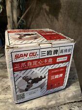 Sanou Metal Lathe Chuck 3 Jaw K11 100 100mm Self Centering Amp Reversible