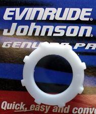 Evinrude OMC New OEM FUEL FILTER Nut 335112, BRP Johnson 60 degree motors