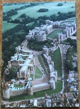 Large Postcard 215mm x 150mm - Aerial view of Windsor Castle - New Unused