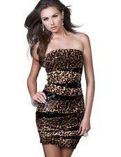 Polyester Clubwear Sleeveless Wiggle, Pencil Dresses