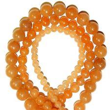 "GR252a 3-Strand Combo Red Aventurine 4mm, 6mm & 8mm Round Gemstone Beads 16"""