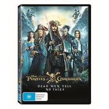 Pirates Of The Caribbean - Dead Men Tell No Tales (DVD, 2017) (Region 4) Aussie