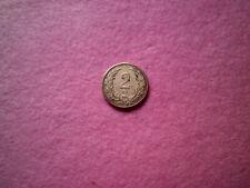 2 Filler 1894 Hungary Magyar Hungría moneda forint