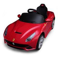 Ferrari 6v Ride On Toy Car Four Wheel Vehicle Battery Powered
