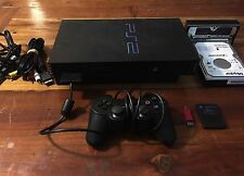 PlayStation 2 PS2 Modded Console Free McBoot With Emulator & ISO Transfer KIT