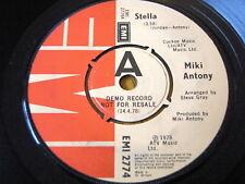 """MIKI ANTONY - STELLA  7"""" VINYL DEMO"""