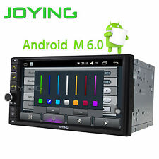 JOYING 7 Inch Car Radio Android6.0 Intel QuadCore Subwoofer DVR GPS Navi SD DAB+