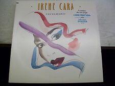 Irene Cara-Carasmatic-LP-Vinyl Record-Full Color Poster-Elektra 607241-Saw Cut