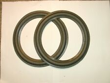 """One pair of  8""""  foam surrounds for Jamo spkrs. eg C20WH-08  etc..See list."""