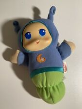2009 Hasbro Playskool Glow Worm Lullaby Blue And Lime Green