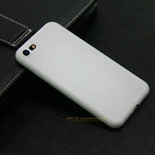 Luxury Ultra thin Leather Skin Soft TPU Case Cover For iPhone 5 6 6s 7 8 Plus X