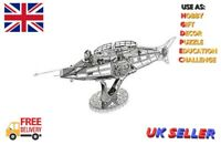 Nautilus 3D Metal Model Kits DIY Assemble Puzzle Jigsaw Building Toy Hobby Kits